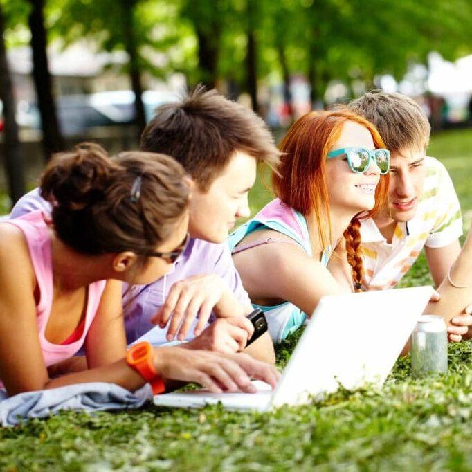 teenagers-resting-P8JCX4H
